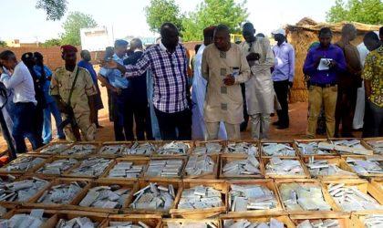 Niger : saisie record de trois tonnes de cannabis à Niamey