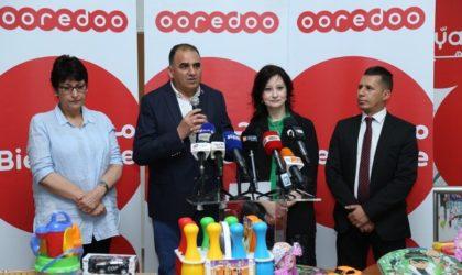 Ooredoo et le CRA partagent les joies de l'Aïd El-Fitr avec les enfants hospitalisés