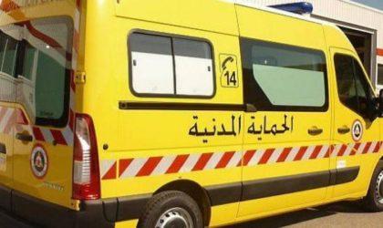 Tizi Ouzou : un incendie ravage le bloc administratif de l'usine Eniem
