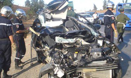 Accidents de la route: 22 morts en 48heures