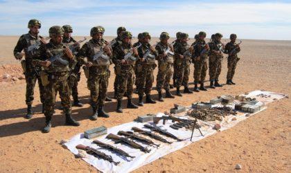 Reddition de sept terroristes aux autorités militaires à Tamanrasset (MDN)