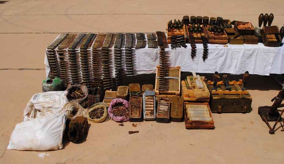 armes munitions