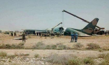 Un Hercule C-130 rate son atterrissage à Biskra et fait des blessés