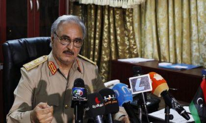Haftar : «Nous ne voulons pas de forces étrangères en Libye»