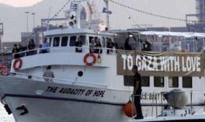 Palestine: les bateaux pour briser le blocus de Ghaza interdits d'accoster à Paris