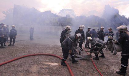 Médéa: le service biométrique de la commune de Bir Benabed détruit dans un incendie