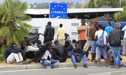 Prise en charge des migrants : la police française épinglée dans un rapport