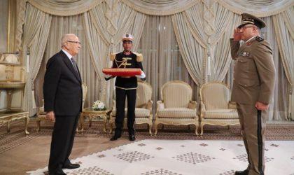 Tunisie : Caïd Essebsi désigne un nouveau chef d'état-major de l'armée de terre