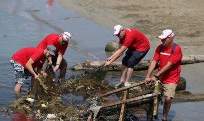 Ooredoo participe à l'opération écolo-citoyenne «Les éboueurs de la mer»