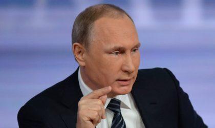 Politique : «Il n'y a aucun ami» selon Vladimir Poutine
