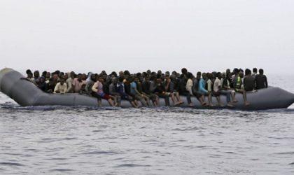 Libye: 152 migrants clandestins secourus au large des côtes ouest