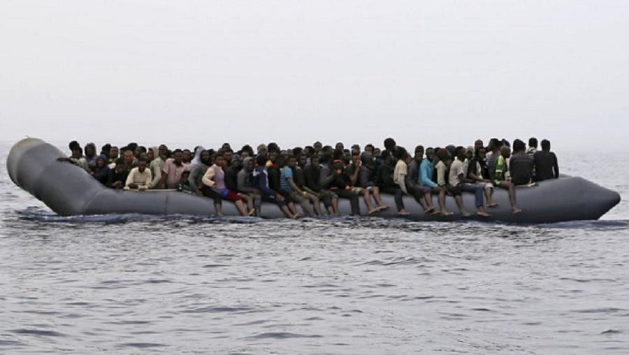 Libye migrants secourus