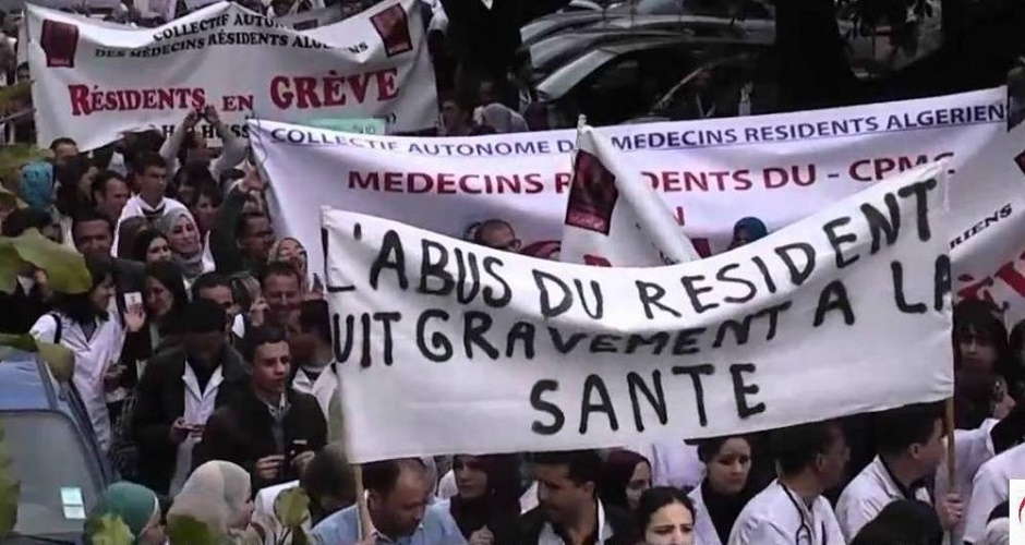 grève résidents