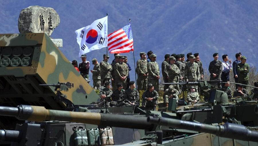 exercices militaires Washington Séoul