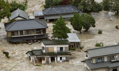 Japon : les inondations font des victimes