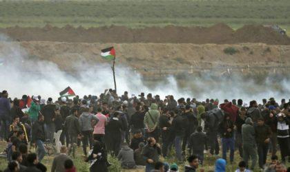 Ghaza: 220 blessés par des tirs de soldats israéliens