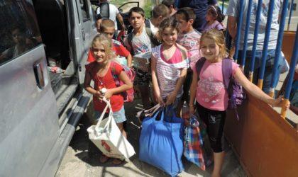 1 100 enfants prennent le départ vers les camps de vacances sur le littoral