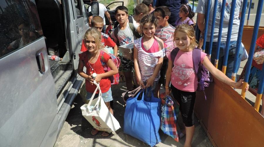 camps de vacances, enfants nécéssiteux, Ourgla