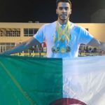 Oussama Sahnoune, Championnats arabes open de natation,