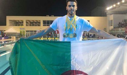 L'Algérie termine à la 2e place du Championnats arabes open de natation