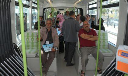Fête nationale de l'indépendance: le tramway gratuit le jeudi 5 juillet
