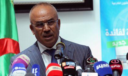 Bedoui : «L'Etat algérien n'a pas failli à son devoir en dépit de la crise financière»