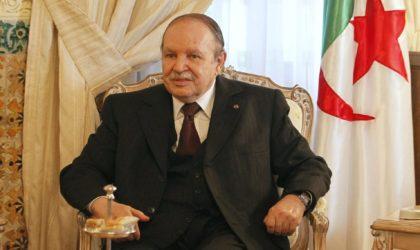 Bouteflika félicite Macron pour la victoire française au Mondial