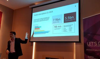 Mobility reportd'Ericsson: la 5G en essor et l'IoT monte en puissance