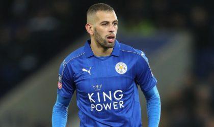 Leicester : Slimani marque son 1er but de la saison en amical