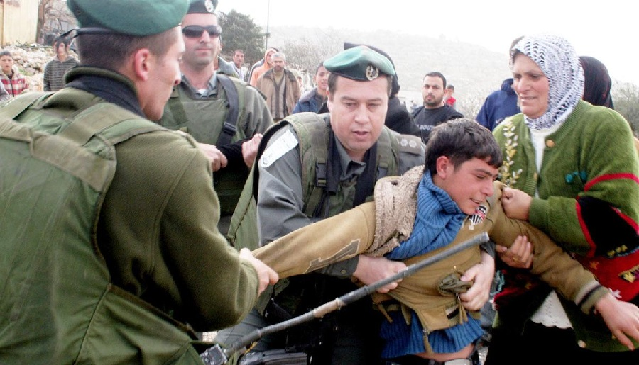 Palestine, Israël versus enfant