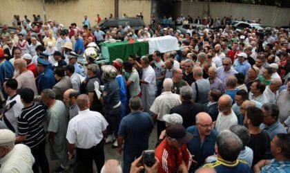 L'absence du ministre à l'enterrement de Lahcène Lalmas dénoncée