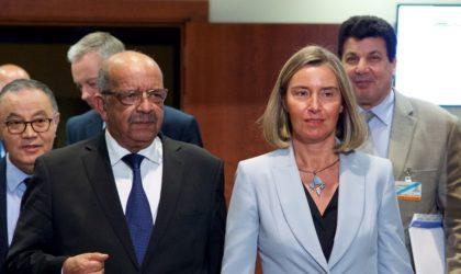 Mogherini à Alger: le terrorisme et le crime organisé au menu