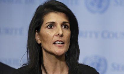 L'ambassadrice des Etats-Unis aux Nations unies s'en prend à l'Algérie