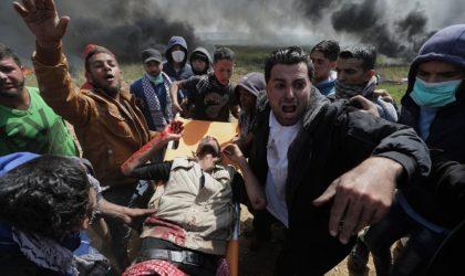 Ghaza : quatre Palestiniens, dont trois enfants, blessés dans un bombardement israélien