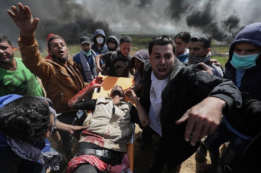 Ghaza, Palestine-colonialisme