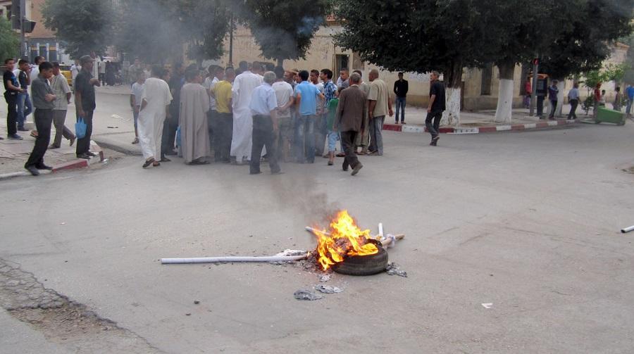 Manifestations Béchar
