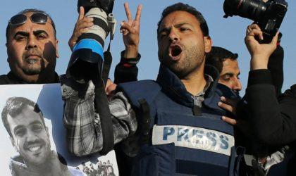 Proche-Orient : 32 journalistes palestiniens dans les prisons israéliennes