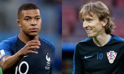Mondial-2018 : Modric, Mbappé et Courtois, élus meilleurs joueurs du tournoi