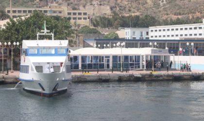 Reprise des navettes maritimes entre Oran et Aïn Turck