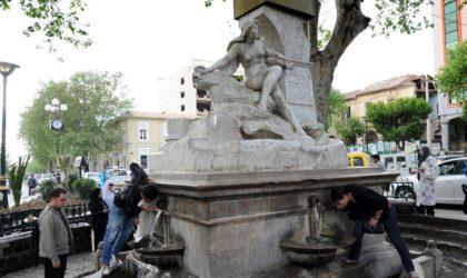 La statue de Aïn El-Fouara restaurée et exposée au public