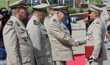Les généraux Sidane et Souab remplacent Chentouf et Bey