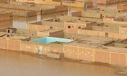 Inondations à In Guezzam: une commission interministérielle constate les dégâts
