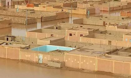 Intempéries à In Guezzam : les forces de l'ANP assistent les sinistrés
