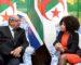 L'Algérie et l'Afrique du Sud réaffirment leur soutien aux peuples sahraoui et palestinien