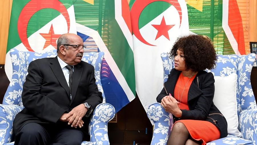 peuples, Messahel Abdelkader et Lindiwe Sisulu 3