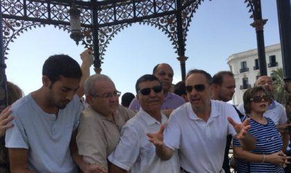Le rassemblement de Mouwatana Place des Martyrs à Alger réprimé