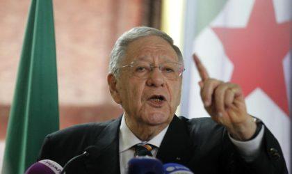 Ould-Abbès catégorique : «Aucun candidat ne passera devant Bouteflika !»