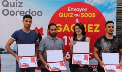 Ooredoo remet les premières voitures aux gagnants de son jeu Quiz Ooredoo