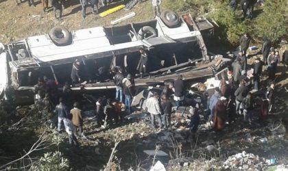 16 Algériens blessés dans dans un accident de la route en Tunisie