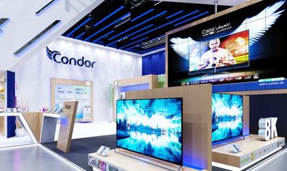 Le Groupe Condor présente ses produits et offres à l'IFA de Berlin 2018
